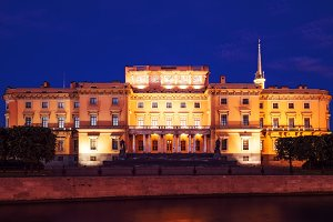 Evening St.-Petersburg. White nights