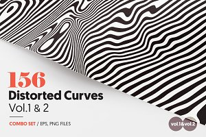 156 Distorted Curves Vol.1 & 2