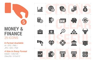 Money & Finance Filled Icon