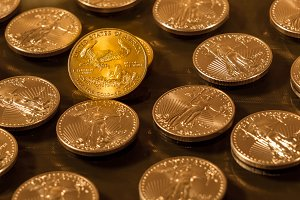 Liberty Gold Eagle one ounce coin