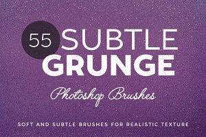 55 Subtle Grunge Brushes