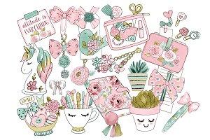 Planner Set Pastels