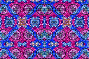 Check Ornate Seamless Pattern