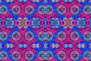 Check Ornate Seamless Pattern