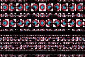 Collage Check Seamless Pattern