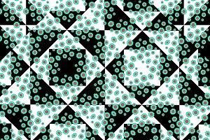 Ditsy Check Seamless Pattern
