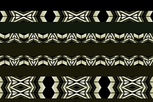 Horizontal Stripes Tribal Pattern