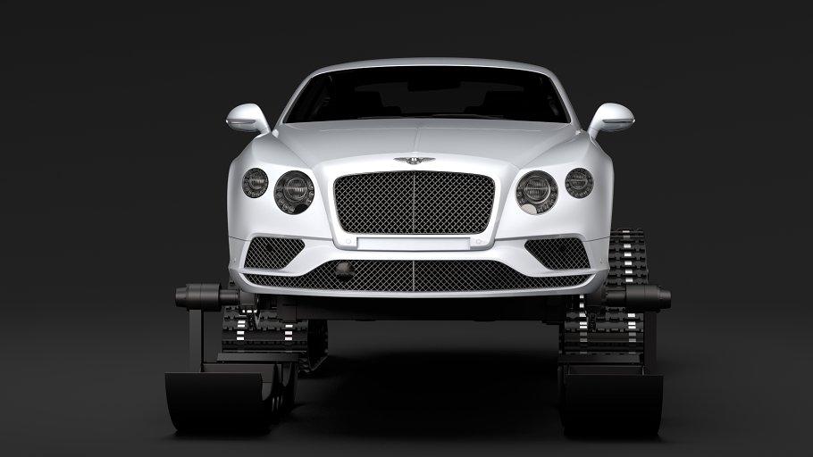 Bentley Continental GT Ski 2018