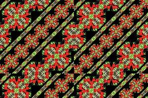 Modern Baroque Boho Stripes Pattern