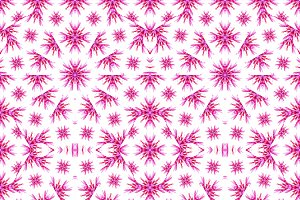 Modern Floral Seamless Pattern Design