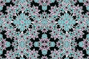 Stylized Floral Mosaic