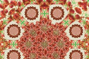 Stylized Nature Boho Chic Pattern