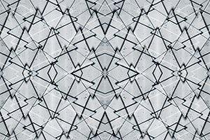 Metallic Polygons Pattern