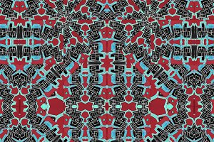 Modern Tribe Seamless Pattern
