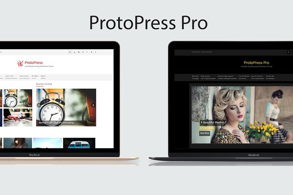 WordPress Magazine Themes: Rohit Tripathi - ProtoPress Pro