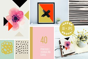 Creative Life Journaling Cards