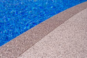 Pool Edge Close Up Photograph