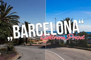 Barcelona Lightroom Preset!