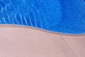 Curved Pool Border