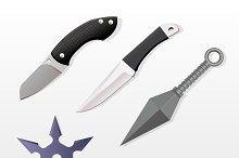 Melee Weapons Set