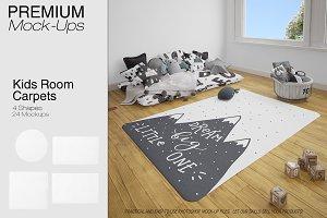 Kids Room Carpets - 4 Shapes