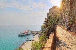 Italy, Monterosso shore