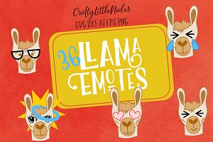 Llama Emotes Bundle Pack