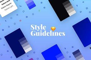 Sketch StyleGuides v1.0