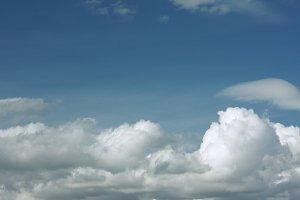 Beautiful Wispy Clouds