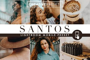 SANTOS - Mobile Lightroom Preset