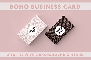 2 Boho Business Card Template
