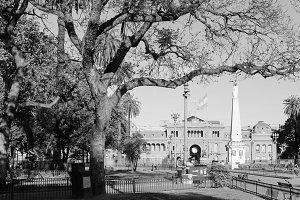 Plaza de Mayo Buenos Aires Grey