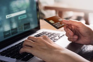 Online Shopping via Credit Card