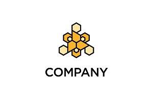 Modern Beehive Logo