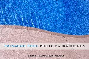 Swimming Pool Background Bundle