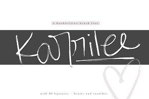 Karrilee - Handwritten Brush Font