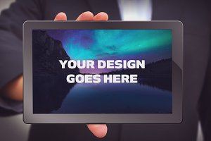 Tablet Mock-up #17