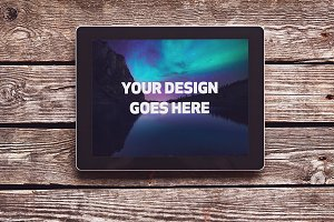Tablet Mock-up #10