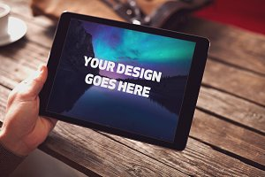 Tablet Mock-up #5