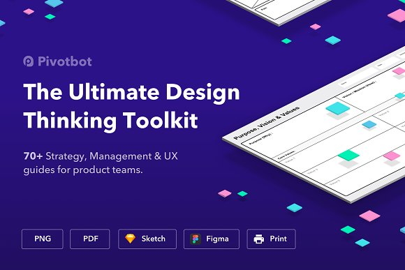 The Ultimate Design Thinking Toolkit Website Templates Creative - Design thinking website