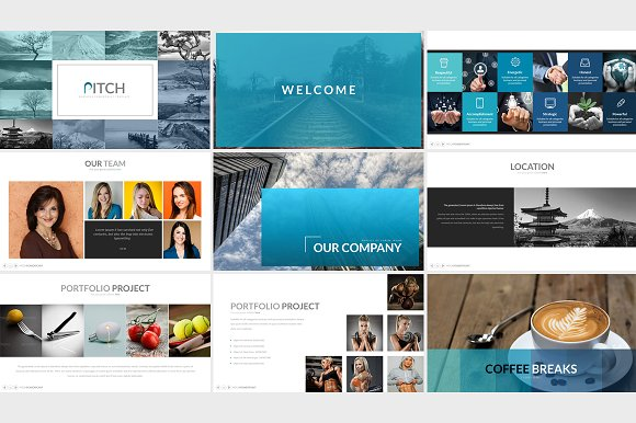 Pitch Powerpoint Template Presentation Templates Creative Daddy