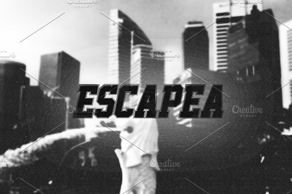 Font | Escapea in Non Western Fonts