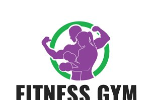 Fitness Gym Logo Template