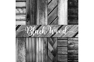 Black Wood Digital Paper