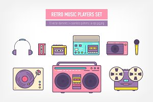 Retro music devices