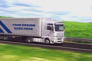 Truck Trailer Mock-up #2
