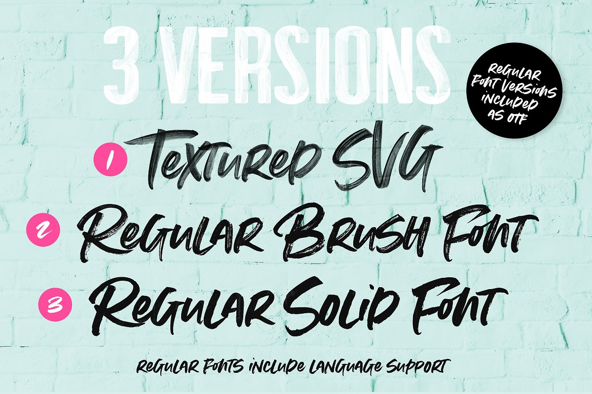 Summer Loving Font Collection in Display Fonts - product preview 18