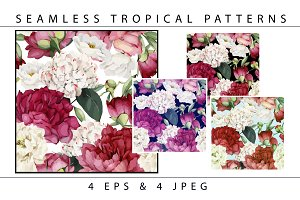 Seamless tropical patterns