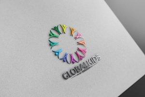 Global Kids Logo Version 2