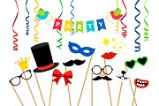 Carnaval party accessories